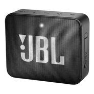 Caixa De Som Jbl Go 2 Portátil Com Bluetooth Black Midnight
