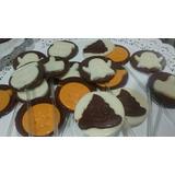 Chupetines De Chocolate Corazon