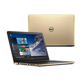 Notebook Dell Inspiron 17-5755 A6/1tb/6gb/17.3 /w10 Gold