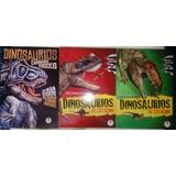 Revistas Dinosaurios Al Extremo Y Carnívoros Feroces 3 Tomos