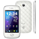 Smartphone Blu Amour Branco Dual Chip, Tela 4 Pol., Android