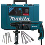 Rotomartillo Sds Plus Makita +brocas+cinceles+envio Gratis