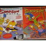 Simpson Comics / No.1 & 6 Editorial Vid + Tarjetas