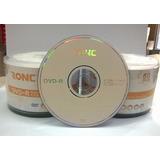 Dvd-r Ronc X 100 , Excelente Calidad Grado A+ - Insumax