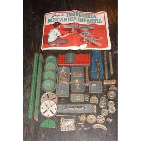 Antiguo Ing. Mecánico Infantil Mecano (1595)