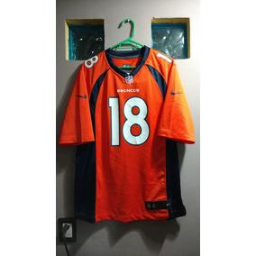 Jersey Broncos Denver #18 Manning