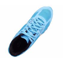 Tênis Nike Air Max 2013 Azul Bebê E Prata Original