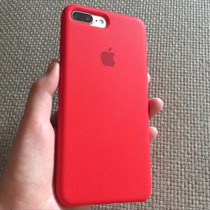 Funda Silicón Logo Apple Iphone 7 Silicone Case Apple Logo