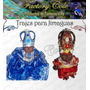 Jimaguas Trajes Y Coronas De Gala Factorycole Santeria Ifa