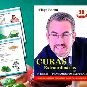 Livro Curas Tiago Rocha + Vinagre De Maça