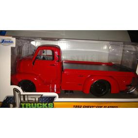 Chevy Coe Flatbed 1952 Roja Plataforma Carga Carro Lyly Toys