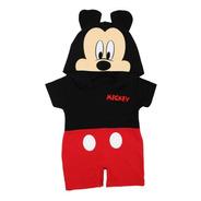 Pañalero Largo Disney Mickey Mouse Miky Bebé Disfraz 5003