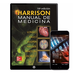 Manual Medicina Interna Harrison Coleccion 6 Libros- Digital
