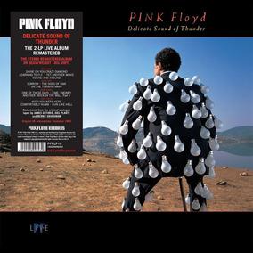Pink Floyd Delicate Sound Of Thunder Vinilo Doble Nuevo