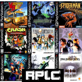 Patchs Playstation 1 Varios Patchs Otimas Midias ....