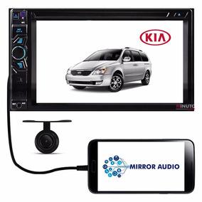 Central Multimídia Kia Carnival Dvd Tv Bluetooth Câmera Ré