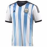 Camiseta Titular Afa Selección Argentina 2014 Oficial