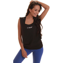Musculosa Mujer Abierta Sport Dry Silver Protect