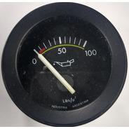 Reloj Manómetro Presión De Aceite Geo Classic 52mm 80lbs