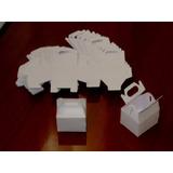 Caixa Bolsa Para Lembrancinha - Papel Branco Liso 240g- 50un