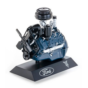 Miniatura Motor Ford V8 Flathead 1948 1/6 Colecionador Mini