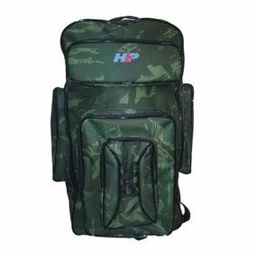 Bolsa Mochilão Camping Hp Camuflada Impermeável 50 Litros