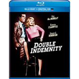 Double Indemnity Blu-ray Original Nuevo Importado