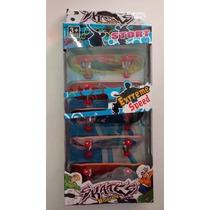 Kit Skate De Dedo Caixa Com 5 Unidades Com Lixa