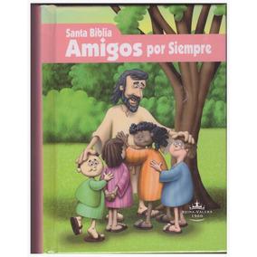 Biblia Niños Amigos Por Siempre Reina Valera 1960 Rosa