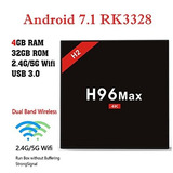 Tv Box H96 Max H2 Android 7.1 4gb /32gb Bt 4.0 Usb 3.0