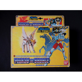 Cavaleiros Do Zodíaco - Boneco - Pegasus De Bronze - Bandai