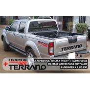 Adhesivos Nissan Terrano, Portalón Y Laterales