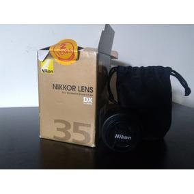 Lente Nikon 35mm Af-s Dx Nikkor 35mm F/ 1.8 G Pereira