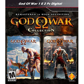 God Of War 1 E 2 Pc Digital + 1000 Jogos De Fliperama!