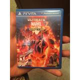 Ultimate Marvel Vs Capcom 3 Psvita Ps Vita Como Nuevo