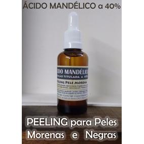 Ac Mandelico 40% Peeling Todos Fototipos De Peles Vidro 50ml