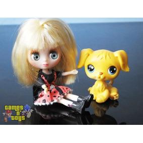 Mini Boneca Blythe Littlest Pet Shop Cachorrinho Hasbro