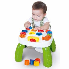 Mesa Didática Brinquedo Para Bebê Play Time Cotiplás