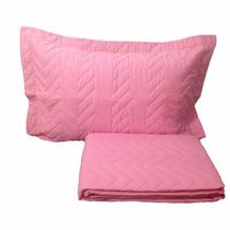 2 Colcha Matelassê Sleep Confort Casal C/ Porta Travesseiro