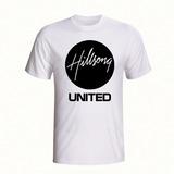 Camiseta Hilsong United Banda Rock Camisa Gospel Branca