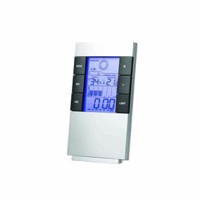 Termo-higrometro De Mesa Digital Temperatura E Umidade
