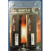 Memória G.skill Sniper Ddr3 2400 16gb (2 X 8 Gb) F3-2400c11d