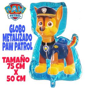 Globo Metalizado Fiesta Paw Patrol Perritos Disney
