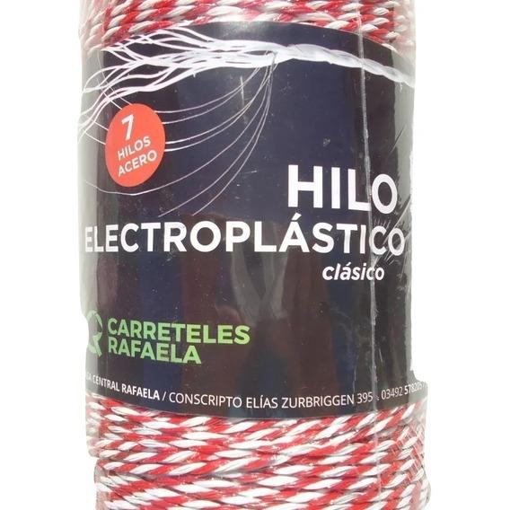 Cable - Hilo Electroplastico Para Boyeros De 500 Metros Con 7 Conductores