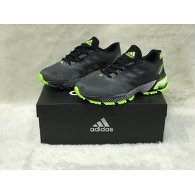 Tenis Zapatillas Adidas Marathon Tr7 - Tenis para Hombre Gris oscuro ... 95b695b0ba8