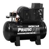 Compressor De Ar 7,4 Pes 50 Litros Bivolt S/rodas Csi Schulz