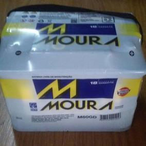 Bateria Moura 60 Amperes Bateria Automotiva