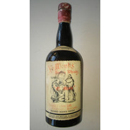Whisky Ye Monks Botellón Antiguo 1 Lt. (anterior 1970) Vacio