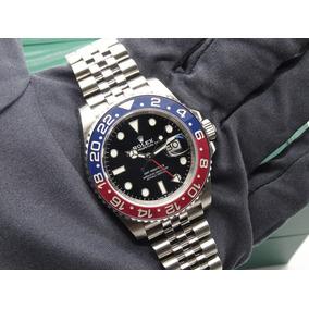 Reloj Rolex G M T Master I I Pepsi Suizo