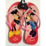 Chinelo Havaianas Personalizado Mickey Minnie Com Strass